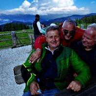 Gert mit Norbert Rier und Hans