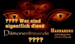 MARRANDRO Dark/Light Emotions Songwriter Andrea Hager - Persönlicher Video Blog No 2 Wer sind diese Dämonenfreunde????