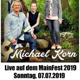 Live auf dem Mainfest mit Michael Korn