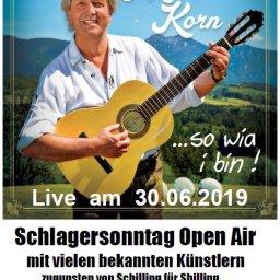 Schlagersonntag Open Air mit Michael Korn