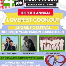LoveFest Cookout with BM Dubb