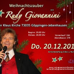 Weihnachtszauber Rudy Giovannini