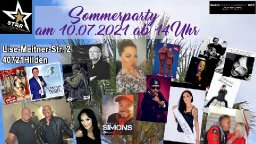 Sommerparty am 10.07.2021