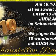 10 JAHRE SCHAUSTELLER RADIO