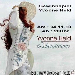 Cd-Verlosung von Yvonne Held
