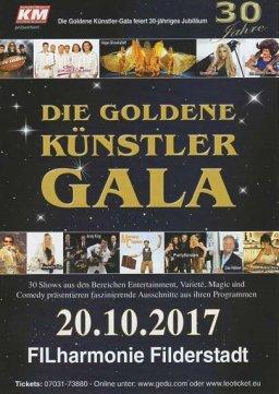 Goldene Künstler Gala - Peter Grimberg - Preisverleihung