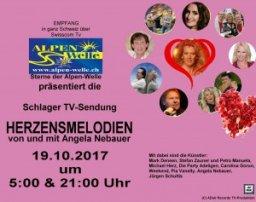 "TV SENDUNG ""HERZENSMELODIEN MUSISTADL"" BEI ALPENWELLE SCHWEIZ"