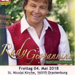 Rudy Giovannini in Oranienburg