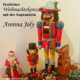 Stimmungsvolles Weihnachtskonzert mit Annina Joly - Beginn 19:15 Uhr