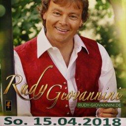 Jubiläumskonzert mit Rudy Giovannini am 15.04.2018