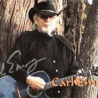 Autogrammkarte Carl Emroy