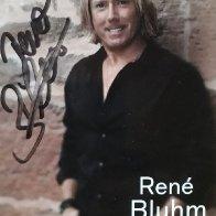 Autogrammkarte René Bluhm