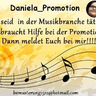 Werbungsflyer Daniela Promotion