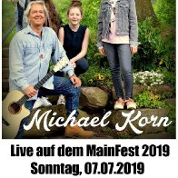 Michael Korn live auf dem Mainfest 2019