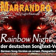 Rainbow Night - Deutsche Lyric