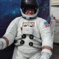Andreo als Astronaut