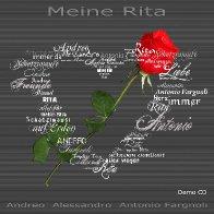 Andreo - Meine Rita Cover Vorne