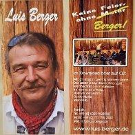 Autogrammkarte - Flyer Luis Berger
