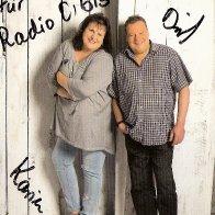 Autogrammkarte Duo Karin & Dirk