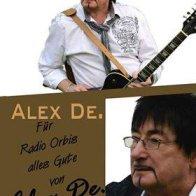 Autogrammkarte Alex de