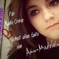 Autogrammkarte Ann Madeleine