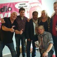 Gruppenfoto in einem Delmenhorster  Radio Sender 11.10.2019