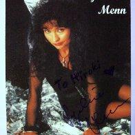 Autogrammkarte Lydia Menn