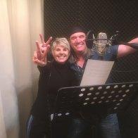 Patrick mit Linda Feller