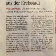 Gert zum Südtiroler Grand Prix nach Italien
