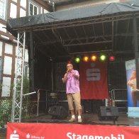 Auftritt beim Weihnbrunnenfest in Michelstadt/Odw