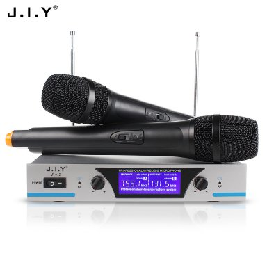 Dual Channels Wireless Microphone System