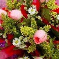Ein bunter Blumenstrauss