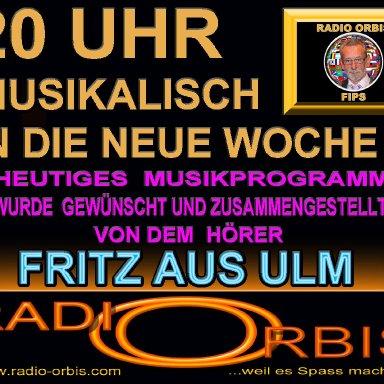 Fips Hörerwunschsendung von Fritz aus Ulm Teil 1