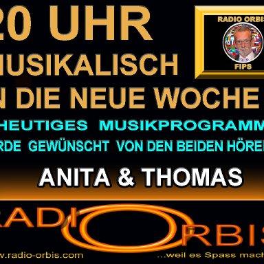 Hörerwunsch Sendung mit Fips (Anita und Thomas Teil1)