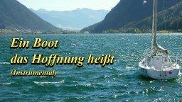 Ein Boot, das Hoffnung heißt